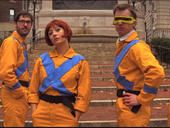 "Wolverine, Cyclops, Angel, Beast, Storm, Magneto, Jean Grey and more mutant superheroes get the hipster treatment in this homage to director Wes Anderson called ""The Uncanny X-Men."""