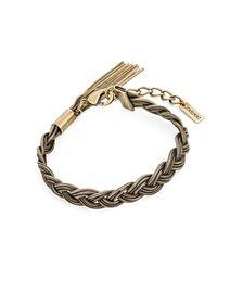 Braided Bronze Bracelet - JewelMint