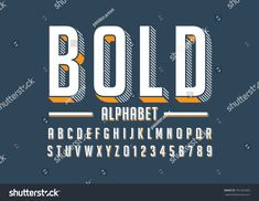 Find Vector Bold Modern Font Alphabet stock images in HD and millions of other royalty-free stock photos, illustrations and vectors in the Shutterstock collection. Fonte Alphabet, Typography Fonts, Lettering, Party Font, Chalkboard Fonts, Bold Fonts, Applique Templates, Modern Fonts, Alphabet And Numbers