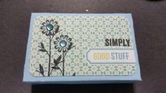 Cute CTMH project...super simple using Picture My Life Cards. Also using a box from Artiste