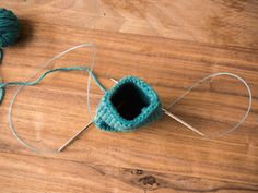 It may sound mystical, but the knitting magic loop is really so easy. Try a new way to knit in the round with this tutorial on knitting the magic loop.