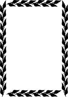Swirl Border png   White Swirl Border clip art - vector clip art ...