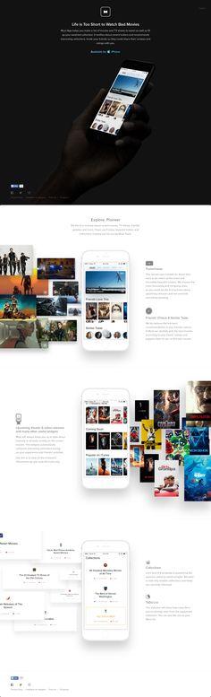 Must App Big Screenshot App Landing Page, Landing Page Design, Landing Page Inspiration, Web Design Inspiration, Mobile Design, App Design, App Promotion, Tv App, App Ui