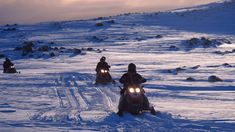 "While the south is certainly spectacular from ""below"" nothing beats experiencing it from ""above."" Go snowmobiling Mýrdalsjokull Glacier."