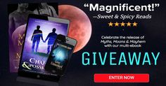 To celebrate the release of Myths. Moons, and Mayhem, we're giving away a bunch of paranormal and menage gay romance reads. Enter to win! … Read more