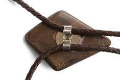 Large Original Boulder Opal Bolo Tie for Him or Her. Statement Jewelry, Boho Jewelry, Jewelry Design, Bolo Tie, October Birth Stone, Australian Opal, Boho Fashion, Fashion Design, Birthstones