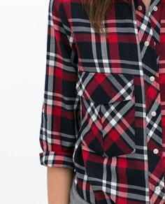 Image 4 of CHECKED SHIRT from Zara