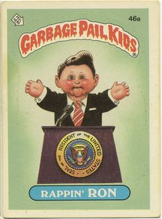 Garbage Pail Kid -- Rappin Ron by Paxton Holley, via Flickr