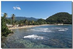Playa Siboney, Santiago de Cuba, Cuba.  I celebrated my 12th birthday among those coconut trees before leaving forever the place that saw my birth.  Where are the three friends that were there with me?  I don't even remember their names.  -  I have been there!