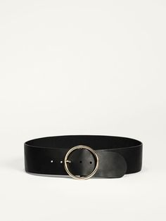LIMITED EDITION WIDE LEATHER BELT Mossimo Dutti
