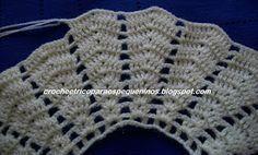 Crochet Lace Collar, Crochet Vest Pattern, Crochet Fabric, Hand Crochet, Knitting Patterns, Knit Crochet, Crochet Patterns, Crochet Summer Dresses, Crochet Skirts