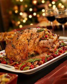 herbed roasted turkey.