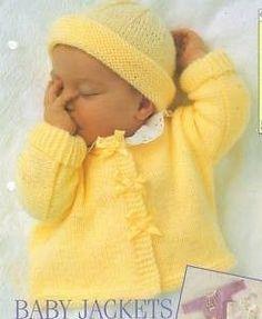 Jimmy Baby Sweater Set Free Knitting Pattern at Jimmy Beans Wool