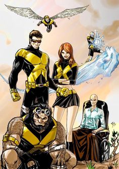 Why can't #JeanGrey have a costume like this? #ExtraordinaryXmen