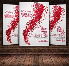 14 Feb Valentine Flyer by Psd Templates on Creative Market