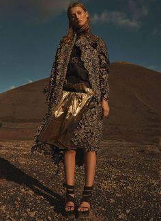 Imágenes de Toni Garrn en Lanzarote compartidas en sus perfiles oficiales.