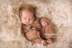 Newborn Photographer Aberdeen - Such a cute baby bear from today's session 🐻💙 😍