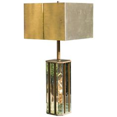 Romeo Rega Bicolor Table Lamp | See more antique and modern Table Lamps at https://www.1stdibs.com/furniture/lighting/table-lamps