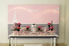 Pink Paris Party via Kara's Party Ideas | Kara'sPartyIdeas.com #pink #paris #party #planning #ideas #supplies (11)