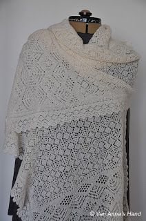 heirloom shetland lace stole