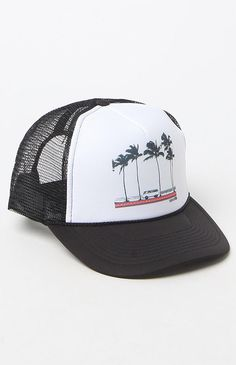 Hooked on Born Traveller Trucker Hat that I found on the PacSun App
