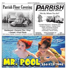 Parrish Floor Covering - 150325 - Spring Sports 2015 - Page A20 - The Southeast Sun: Eedition