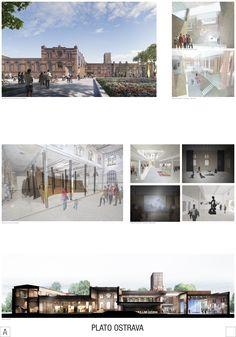 Jatka Ostrava - Galerie Plato, výsledky architektonickej súťaže a predstavenie návrhov | Archinfo.sk