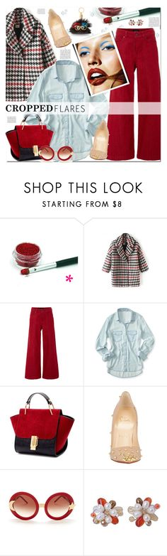 Would You Wear It: Cropped Flares by prigaut on Polyvore featuring Aéropostale, Saloni, Christian Louboutin, NOVICA, Wildfox, Sophie Hulme, Anja, wouldyouwearit, polyvoreeditorial and croppedflares
