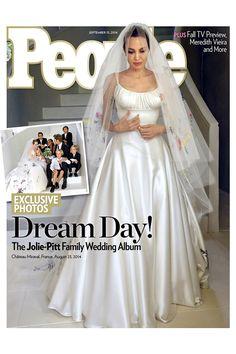 Angelina Jolie Wedding Dress Designer Revealed Versace (Vogue.com UK)
