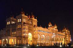 The Palace of Mysore (orAmba Vilas Palace), Mysore, Karnataka, India. - www.castlesandmanorhouses.com