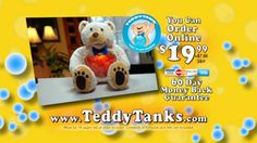 Teddy Tanks® | Official Site | The Stuffed-Animal Fish-Tank! The pony