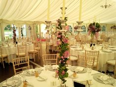 Scottish marquee wedding for 160 guests.  On the day coordination and styling advice by Blue Thistle Weddings. www.bluethistleweddings.co.uk