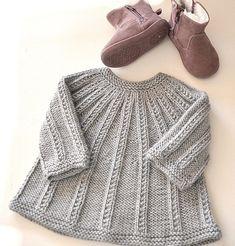 Baby Sweater Patterns, Baby Knitting Patterns, Baby Patterns, Crochet Patterns, Crochet Baby Cardigan, Knit Baby Dress, Baby Cardigan Knitting Pattern, Crochet Onesie, Booties Crochet