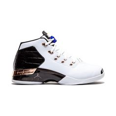 9a7a7edea0af Nike Air Jordan 17 available in white and metallic color way in men sizes  for sale from the Australian online Jump Street sneaker store.
