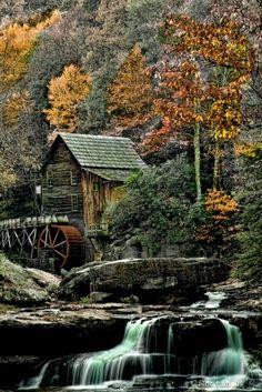 Glade Mill, Babcock State Park, Pennsylvania | Ron Lafleur