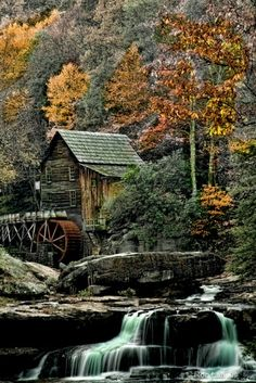 Glade Mill, Babcock State Park, Pennsylvania | Ron Lafleur