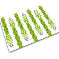 Asparagus cutting board
