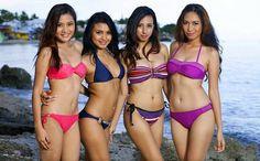 Sexy Asian women on the beach
