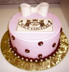 Juicy Couture cake! love