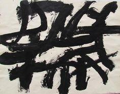 Black and White #20 (recto) by Guido Molinari.