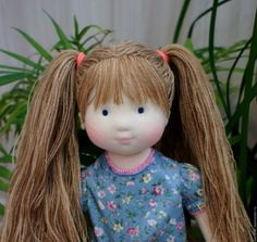 Doll Wigs, Doll Hair, Sock Dolls, Baby Dolls, Doll Making Tutorials, Doll Makeup, Doll Tutorial, Sewing Dolls, Waldorf Dolls