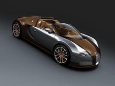 #Bugatti Veyron 16.4 Grand Sport Brown Carbon Fiber