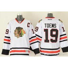 Men s Stitched Men s Chicago Blackhawks Ice Jersey  19 Jonathan Toews  88  Patrick Kane Home f6ca2de8f