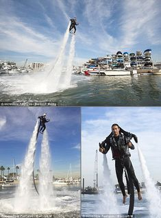 $250 for a three hour jetpack ride! it uses water and is tethered to a pump on a jetski someone in driving for you. but it still can go 25mph and you can go 33ft in the air! ahh so cool!