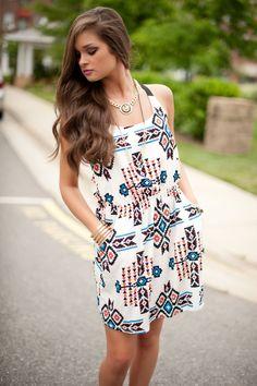 aztec dress  #swoonboutique