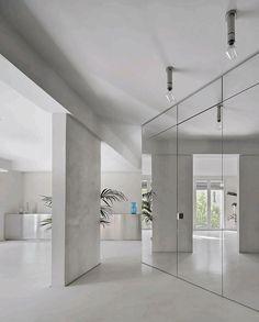 Architecture | Wallpaper* Architecture Wallpaper, Interior Architecture, Apartment Interior, Apartment Design, Greenwich Peninsula, Ceiling Windows, Sheer Curtains, Minimalist Design, Furniture
