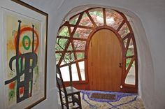 House of the Week: The Mushroom House   Zillow Blog WHAT A DOOR!!