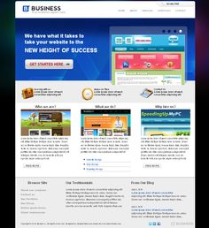 Business Site CSS/HTML Free