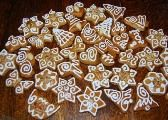 Recepty na medovníky Gingerbread Cookies, Food And Drink, Cooking Recipes, Baking, Breakfast, Ginger Cookies, Food Recipes, Patisserie, Chef Recipes