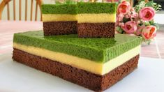 Puding Cake, Resep Cake, Dessert Boxes, Sweet And Spicy, Yummy Cakes, Vanilla Cake, Dan, Food And Drink, Pudding